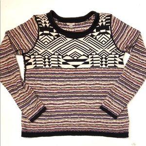 UO Ecote Geometric Print Sweater